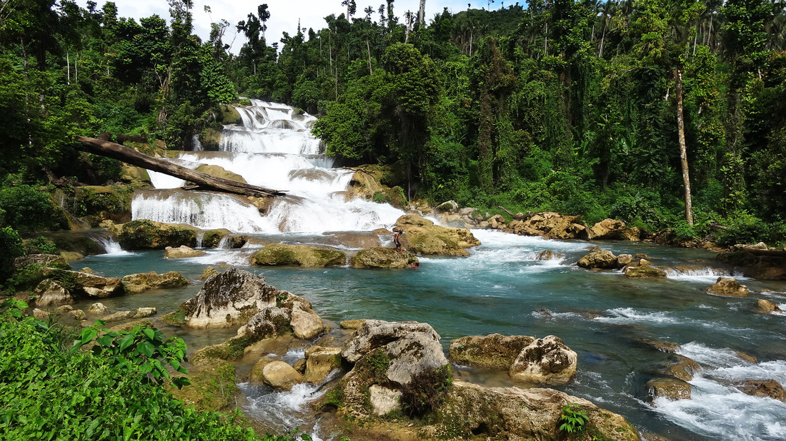 Aliwagwag Falls in Cateel